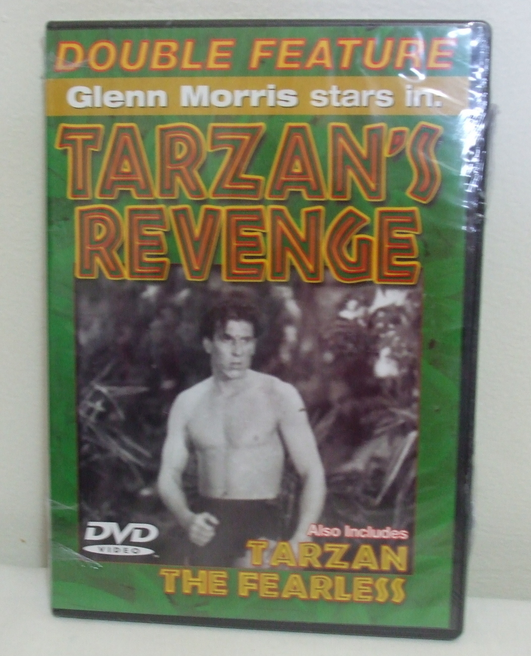 DVD New Tarzans Revenge and Tarzan the Fearless