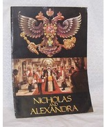 Nicholas and Alexandra Movie Program - $8.00