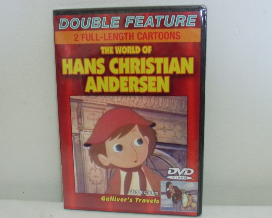 DVD New World of Hans Christian Andersen Gullivers Travels