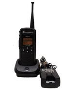 Motorola DTR550 Portable Digital Radio With Dock And Power Cable Bin:1 - $179.99