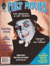 Cult Movies Magazine #15 Tod Browning Lon Chaney The Mummy Horror Monster - $4.95