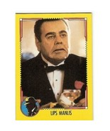1990 Topps DICK TRACY-LIPS MANLIS #7 - $0.10