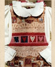 Victorian Hearts Jumper by Prairie Clothing Co. All Sizes New Pattern - $5.95