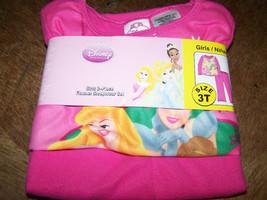 Size 18 Months Disney Princess Flannel Pajamas Belle Cinderella Aurora P... - $12.00