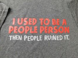 Delta Tag Men's T-Shirt Graphic Tee Heather Dark Gray Size Choice XL 2XL... - $10.39