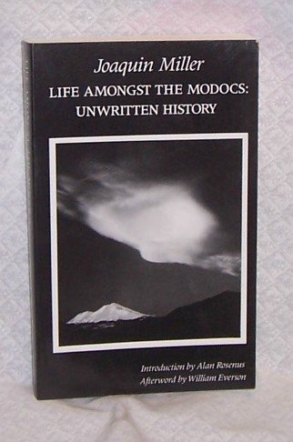 Life Amongust the Modocs  Joaquin Miller