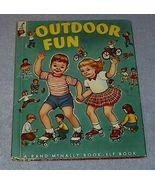 Child's Vintage Elf Book Outdoor Fun - $5.95