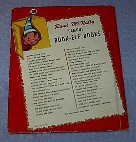 Child's Vintage Elf Book Outdoor Fun