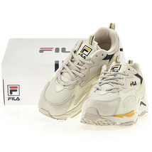 FILA Ray Tracer Unisex Running Shoes Sports Athletic Sneakers Beige FS1S... - $88.99
