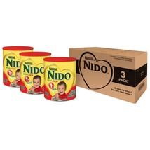 Nido Kinder 1+ Powdered Milk Beverage, 1.76 Pound, 3 Count - $47.04