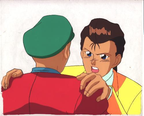 """Ashita e Free Kick """"Daichi"""" Anime Cel (0168)"""