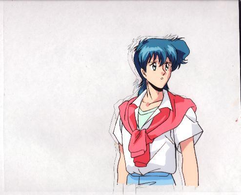 """Ashita e Free Kick """"Syun Godai"""" Anime Cel (0174)"""