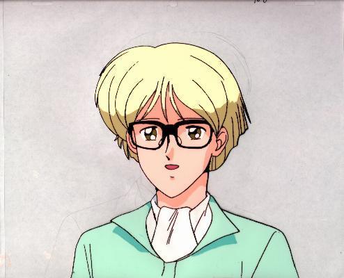 """Ashita e Free Kick """"Roberto"""" Anime Cel (0177)"""