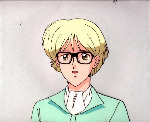 """Ashita e Free Kick """"Roberto"""" Anime Cel (0178)"""