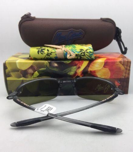 Maui Jim Gafas de Sol Makaha Lector + 2.0 Ht 805-11 20 Gris Ahumado con / Verde