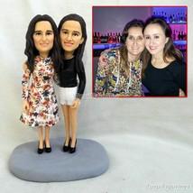 cake topper wedding tree cake topper heart wedding figurine shanks figur... - $148.00