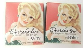 LOT of 2 TheBalm Overshadows Sexpots Mineral Eyeshadow NO MONEY, NO HONE... - $7.91