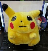 "Pokemon Pikachu Plush Toy 18CM/7.5"" Official Nintendo 2000 - $24.45"
