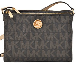 Michael Kors Signature Fulton EW Crossbody Bag ... - $168.95