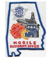 US Secret Service USSS Alabama Mobile Resident Office Agent Service Patch 5 x 3. - $12.99