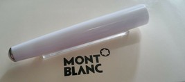 MontBlanc pen replacement spare parts Mont Blanc Upper Barrel  White Pla... - $74.67