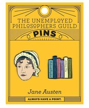 Jane Austin Enamel Pin Set  Unemployed Philosophers Guild New Sealed - $13.86