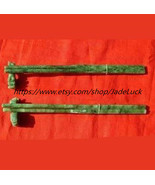 Free shipping - two for natural translucent jade / Jade / Snake chopsticks - $48.99