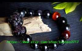 Free shipping----------Pi Yao obsidian bracelet evil Lucky very necessary safety - $39.99
