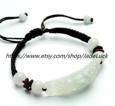 Free shipping.-----100% pure natural jade Pi Yao charm bracelet - $23.99
