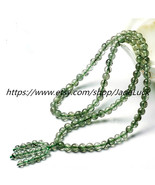 Free shipping ---- Natural Green hair crystal bracelet multi beads - $38.99