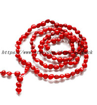 Free shipping ---Tibetan Buddhism truly 100% natural red seed and natural white  - $23.99