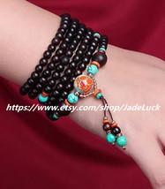 Yoga meditation sandalwood rosary beads charm beads charm bracelet 108 - $33.99