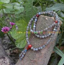 Rare natural Moonstone gemstone Moonstone gemstone rosary tiger eye gemstone bea - $53.99