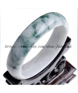 Natural jadeite jade,Charm jade bracelets (diameter 57-61 mm strip width ) - $49.99