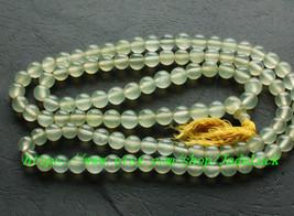 AAA grade natural jade 8 mm bead rosary beads beaded necklace meditation - $36.99