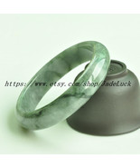 Natural green jadeite jade,Charm jade bracelets( custom size Diameter 54... - $76.99