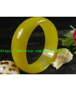 Korean version of the full natural yellow onyx bracelet widened version  - $63.99
