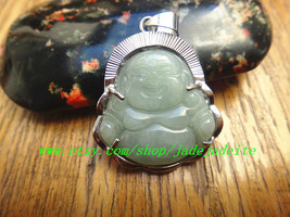 S925 Silver Jade Buddha Pendant - $26.99
