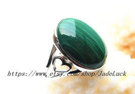 925 sterling silver, malachite Ring Ring Size (us 7 - 9) - $26.99