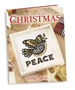 Joyful Tidings A Cross Stitch Christmas hardcover cross stitch book Craf... - $32.00