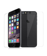 Premium Tempered Glass Protector Set Cover for display and back of iPhon... - $23.75