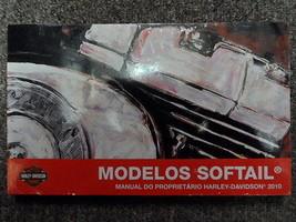 2010 Harley Davidson Softail Propriétaires Manuel Usinage Oem Livre Neuf - $39.74