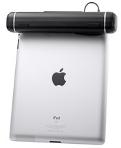 Clip On Tablet Speaker iPad Universal iPhone Stereo Travel Compact Laptop USB - $37.95