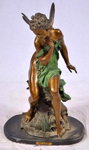 """Feet La Source"" Solid American Bronze Statue Sculpture by A. Moreau - $1,559.94"