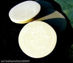 """THREE 2"""" POLYURETHANE Round Disk for Poker Marker Chip scrimshaw, jewelry - $4.95"""