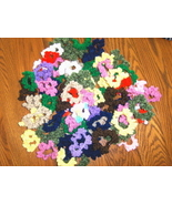 Scrunchies Crochet  Hair Scrunchy Homemade Lot - $4.99