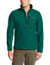 NEW COLUMBIA MEN'S ASCENDER SOFTSHELL JACKET COAT GREEN XXL NEW NWT $115 NWT 2XL - $107.53