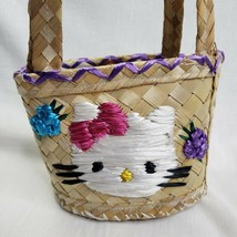 "Hello Kitty Bahamas Straw Bag Personalized ""Kaitlyn "" - $10.89"