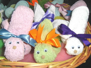 Boo Boo Bunnies Chase Childrens Tears Away