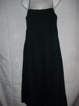 Ladies Size 2 M Liz Claiborne Black Lined Zipper Side Weaved Top Summer ... - $29.69